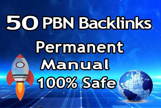 50 Homepage Pbn Backlinks Using High Pa Da To Get Fast Ranking