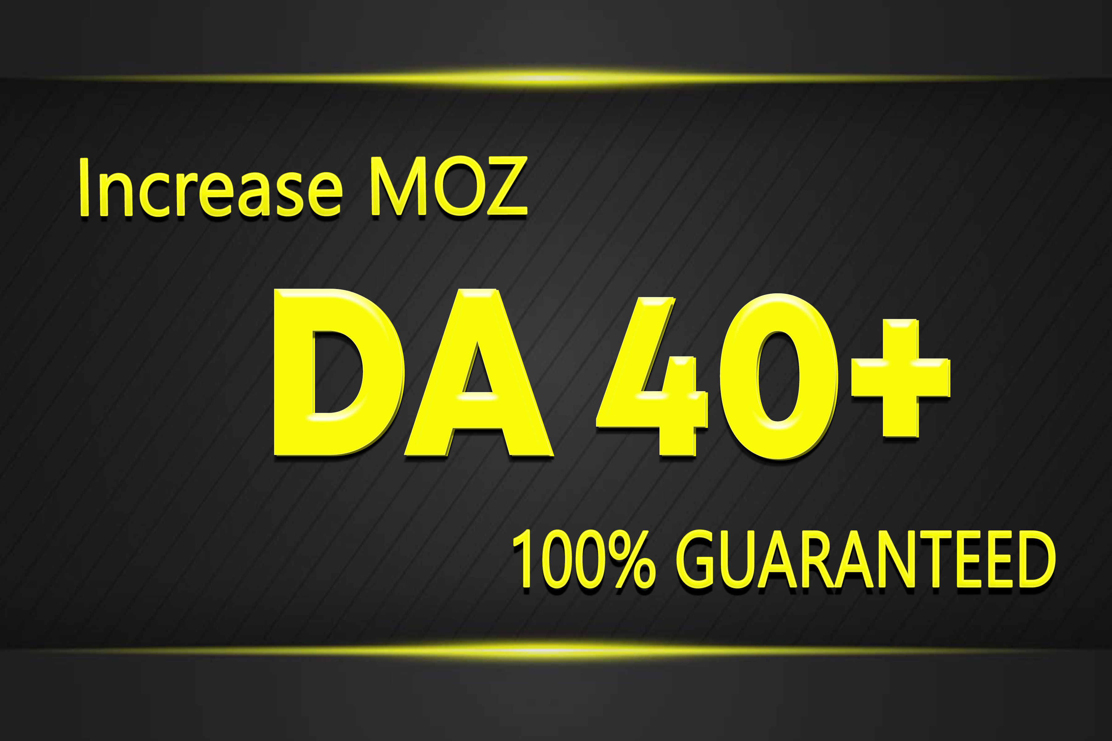 increase your domain authority permanent moz da 40+ & PA 30+ in 3 weeks using seo backlinks