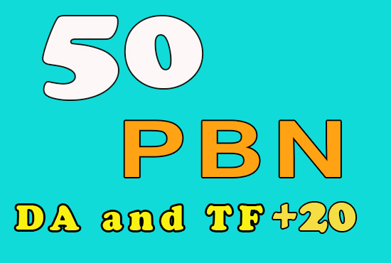 50 Homepage PBN Backlinks DA and TF +20 - Get Fast Ranking