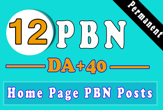 12 DA30 To DA40 Aged Domains PBNs With High PA/CF/TF for ranking on Google