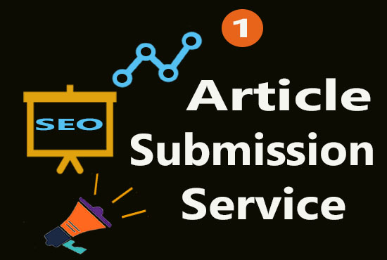30 Unique Submission of an article about your site to Top article submission sites