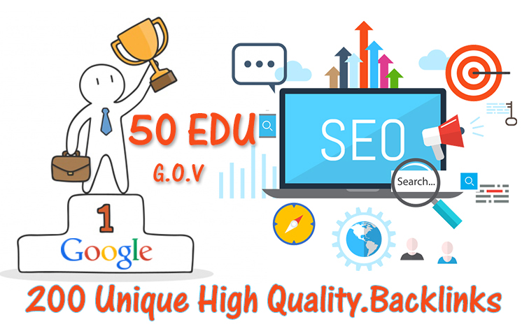 boost your google seo ranking with 200 USA pr9, edu link building backlinks
