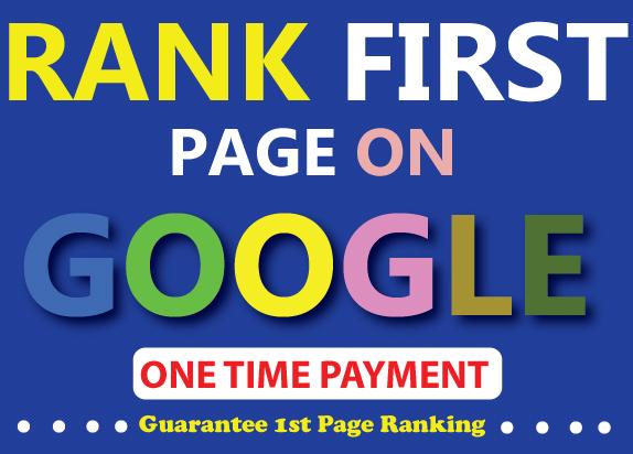 Build seo 200 dofollow backlink, google ranking, link building service