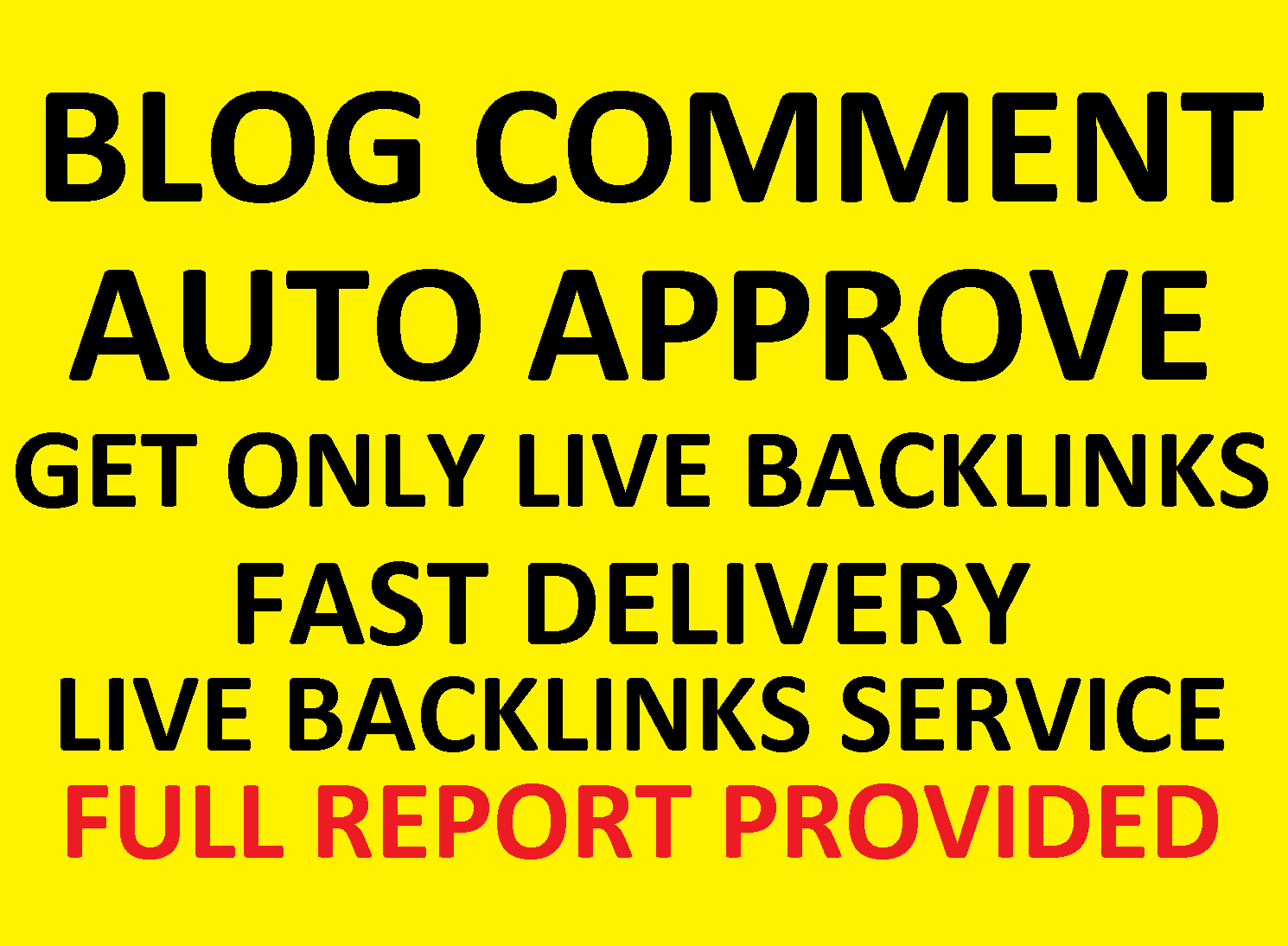 25000 High Quality Seo Auto Approve Blog Comments Backlinks Package