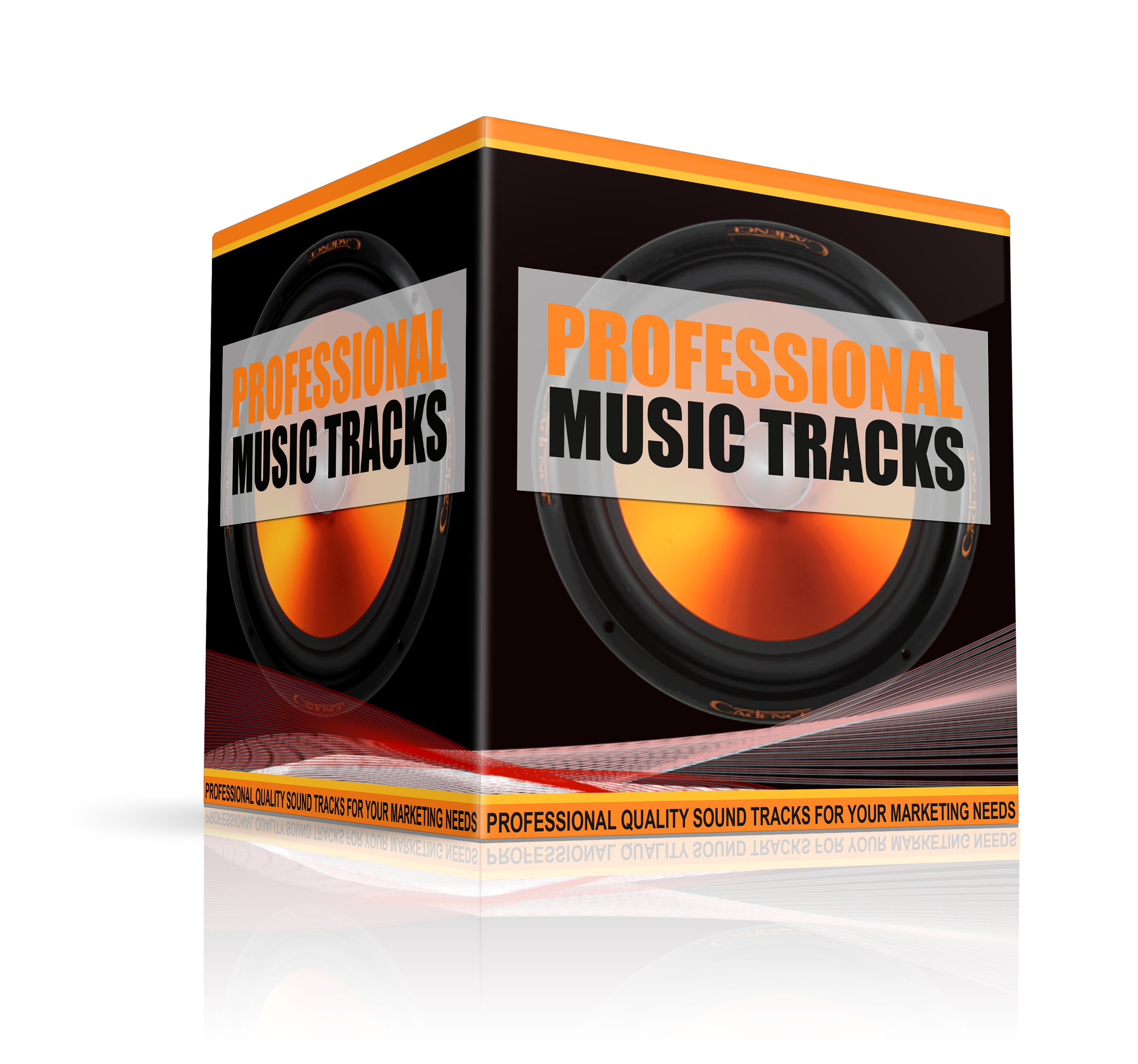 Professional music tracks and an audio pack of 1500 mp3 MRR