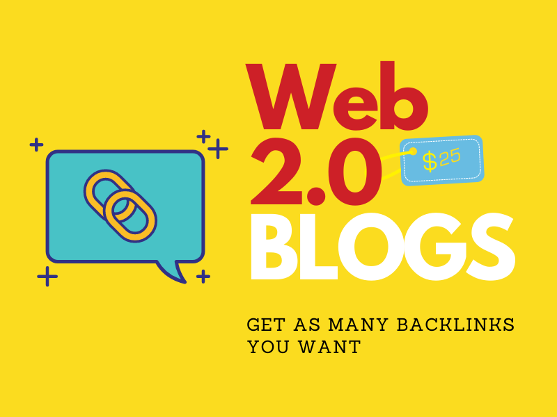 30 high quality web 2.0 blogs with authority contextual links