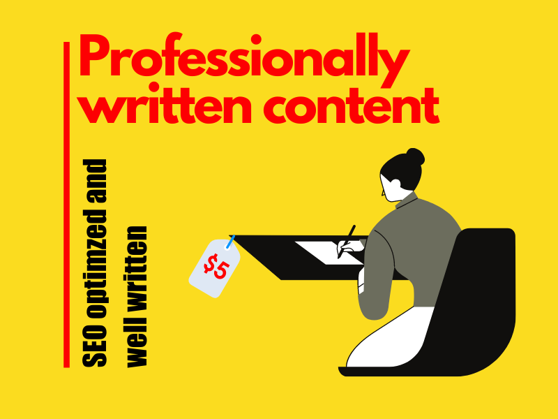 I'll write 500+ words of SEO friendly & well-researched content Blog Post