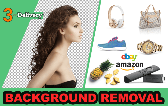 Do 100 images Background Removal and Fast Delivery