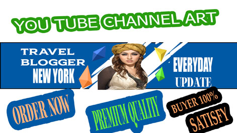 channel art banner ads money back guarantee 100 satisfy buyer