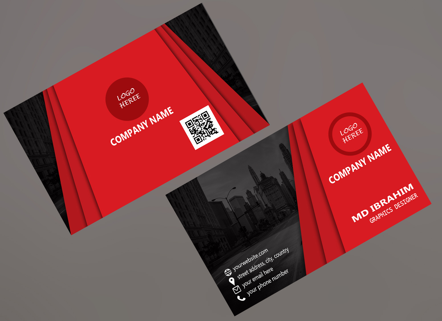For a awesome business card design,  contact with me