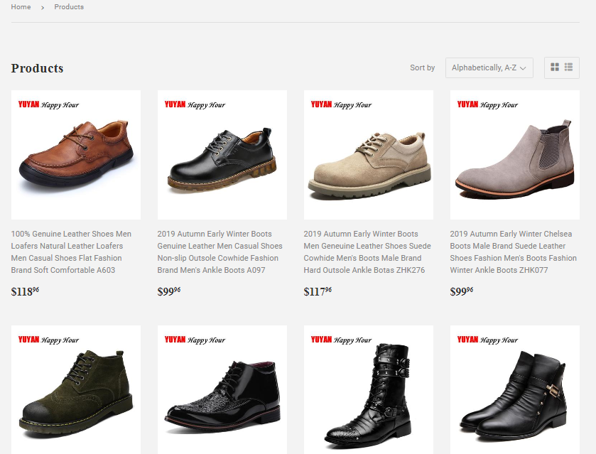 I Will Create Aliexpress Shopify Dropshipping Shoes Store