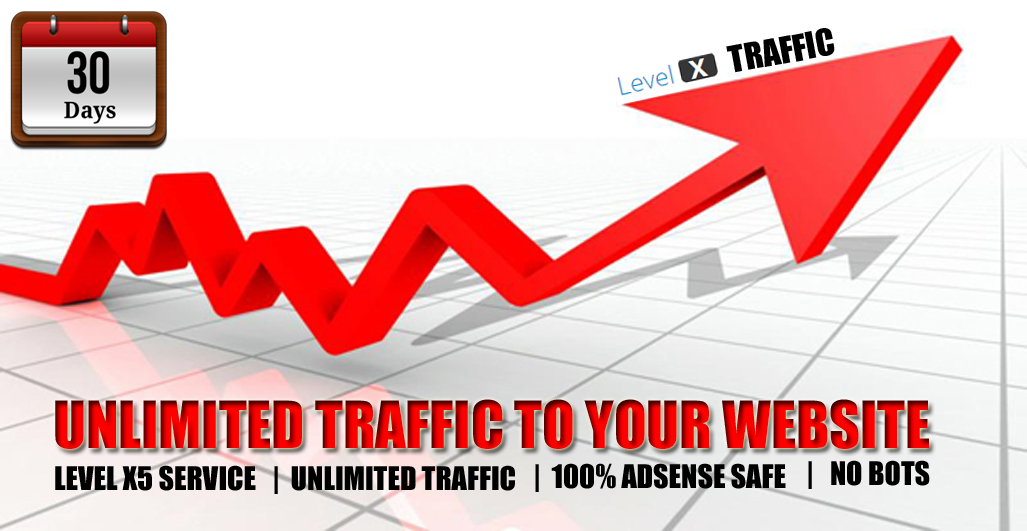 I will provide unlimited web traffic 10,000+ to any website blog affiliate shopping