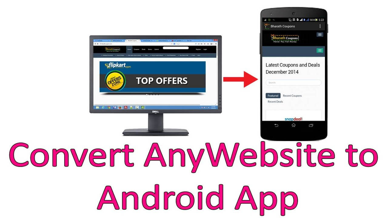 I will convert any website blog shopify to android app