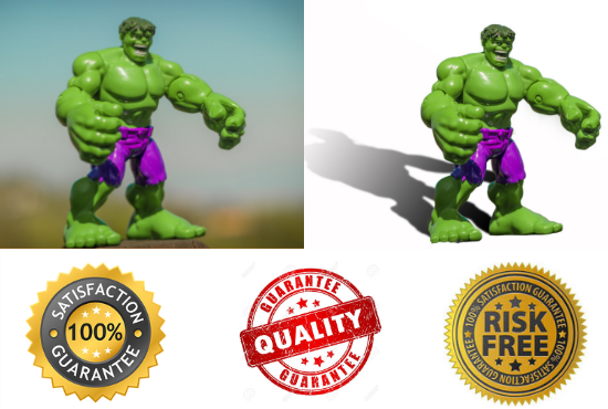 I'll remove Background from product images