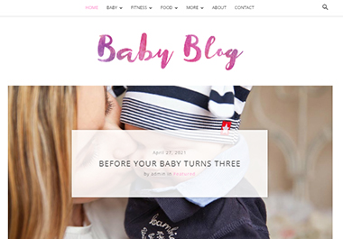 I will create you a baby world niche website for your affiliate programs