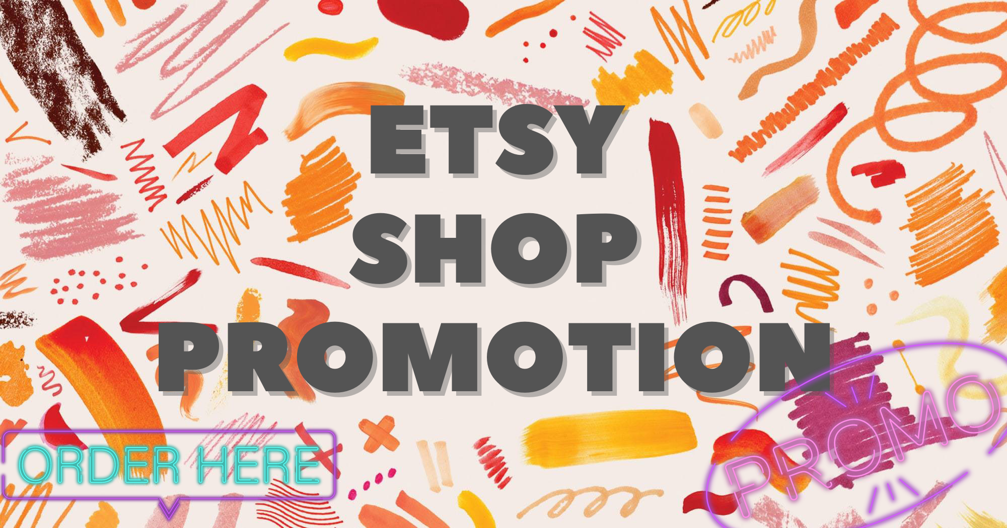 Etsy Shop Promotion Pack - Package Premium - 48 Hour Fast Delivery