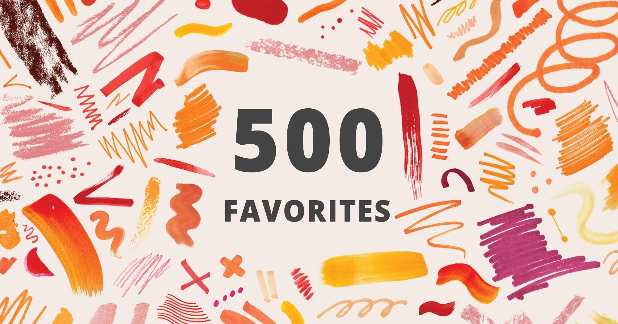 500+ Favorites for You Etsy Shop - 2020 Etsy Favorites Promotion Pack