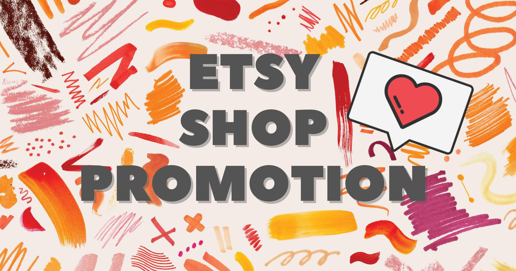 Etsy Shop Main Page Promotion - Package Lite - 48 Hour Fast Delivery