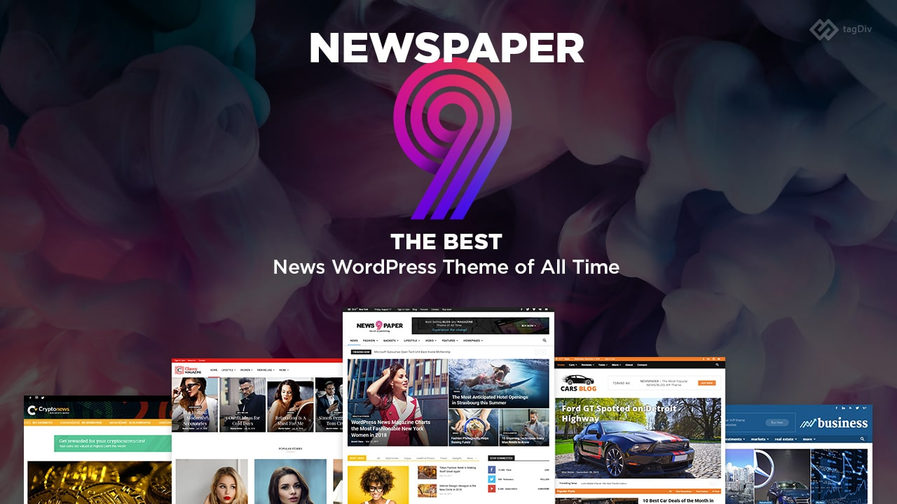 Install and configure newspaper 9 theme with lifetime license