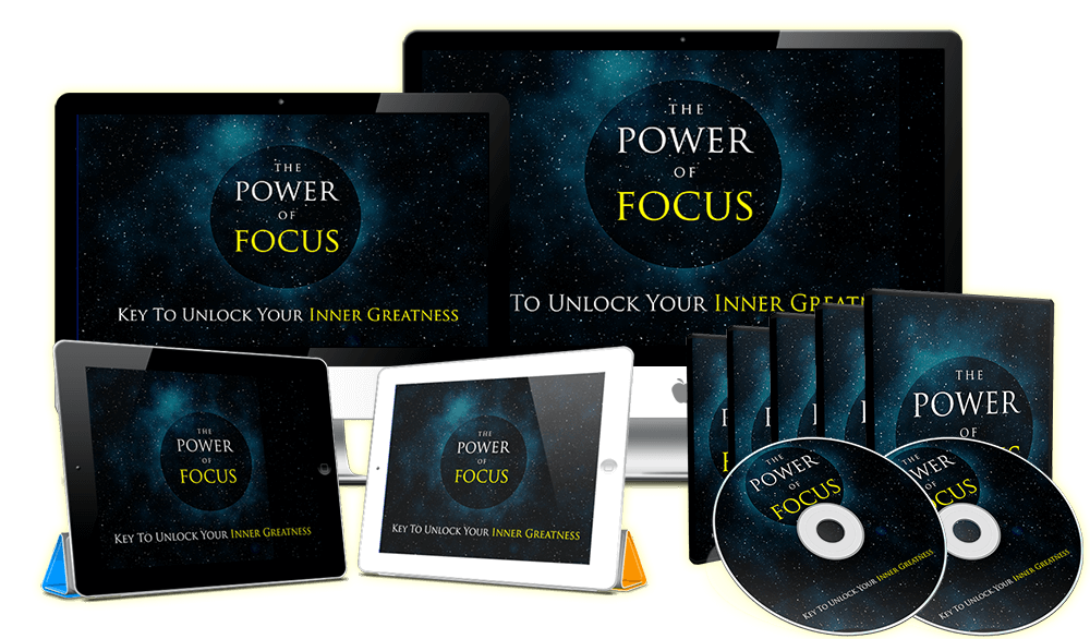 POWER OF FOCUS WITH VIDEO UPGRADED COURSE, POWER OF DISCIPLINE MIND POWER MEDITATION VIDEO COURSE