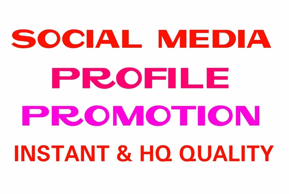 Promote your Social profile to the worldwide real people professionally