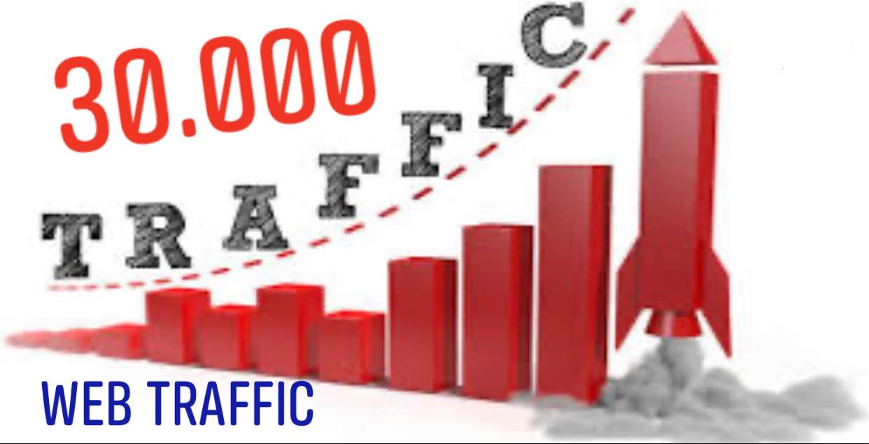 Drive 30000 Web Traffic for your Website and business