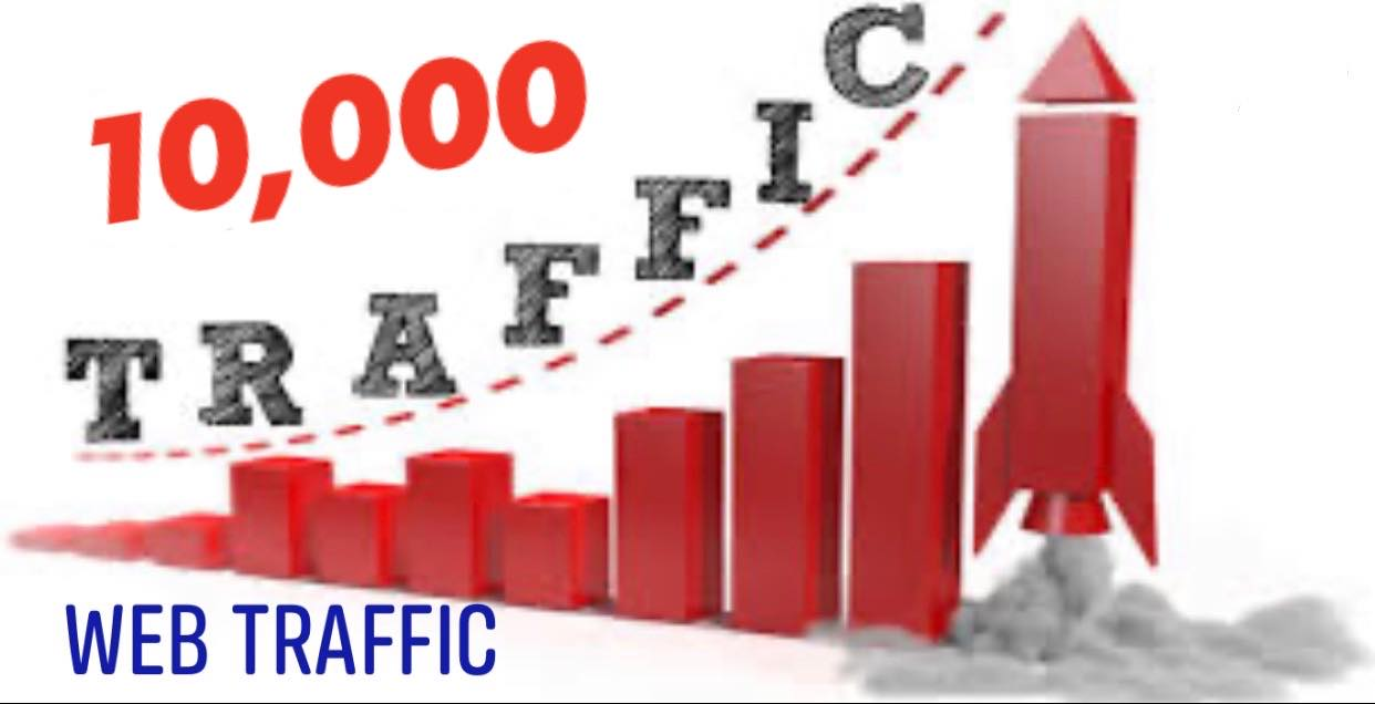 Drive 10000 Web Traffic for your Website and business