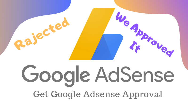 approved google adsense on your website