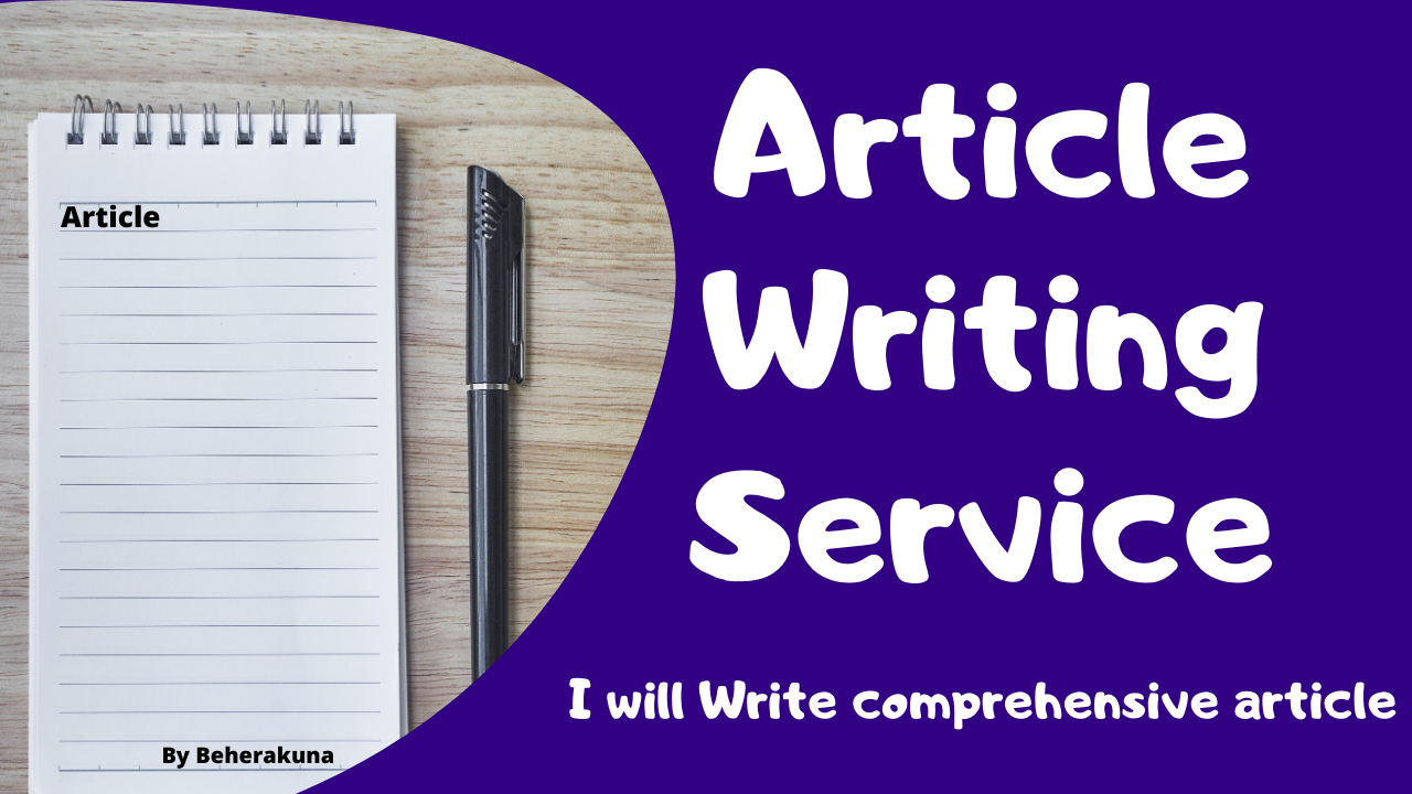 Write you 700 words comprehensive article with seo friendly