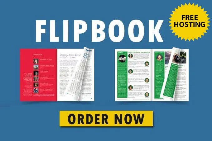 Convert Your PDF To FlipBook,  Free Cover Image And Hosting