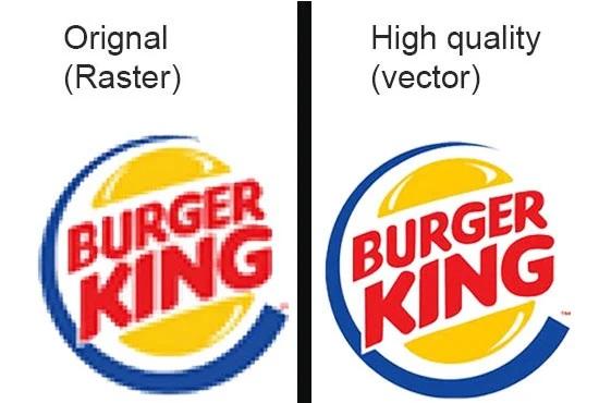 I will vectorize logo, convert to vector, vector tracing