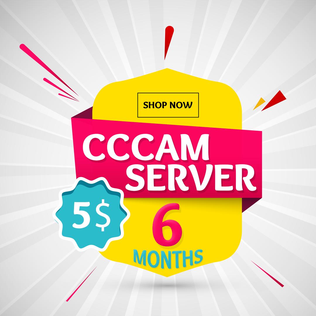 cccam cline 12 months
