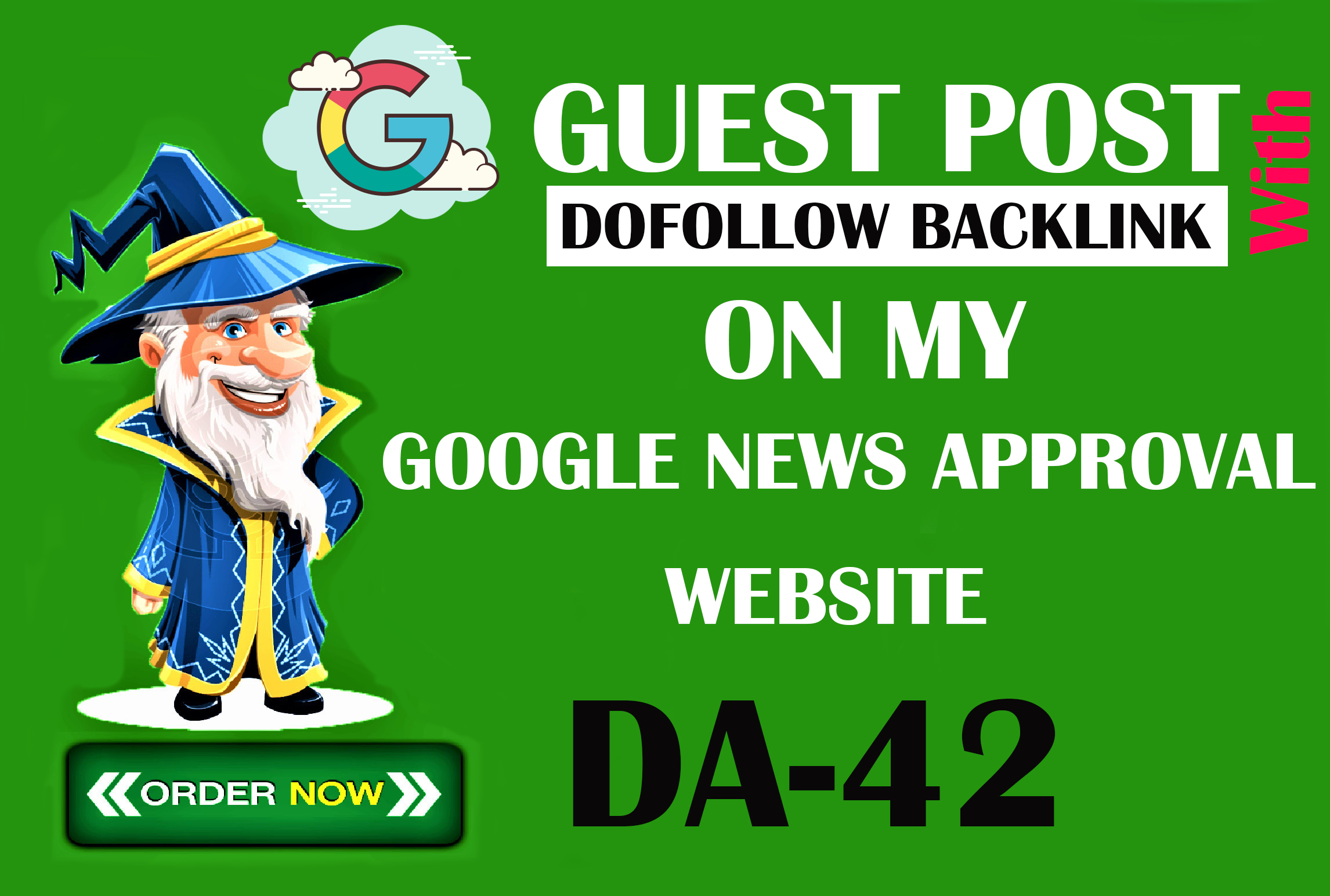 I will provide you google news dofolow backlink on my personal website