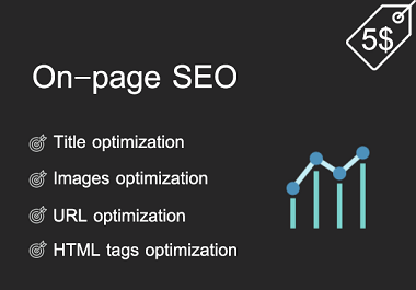 On page SEO work for your blog posts