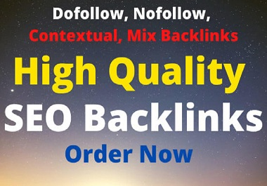 Authority High Quality SEO Backlinks for Fast Google First Page Ranking
