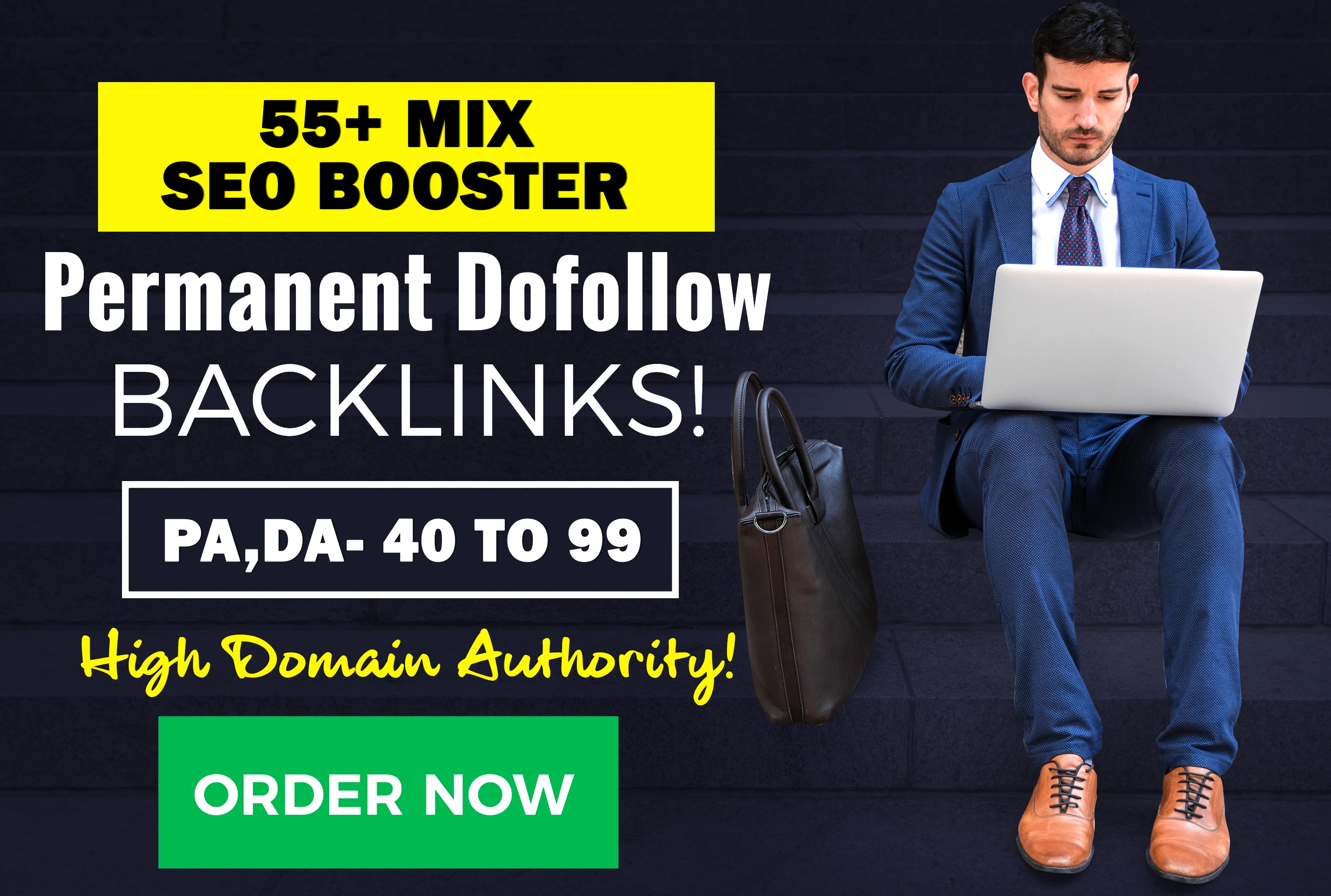 Rank You High With 55 Dofollow Mix SEO Backlinks
