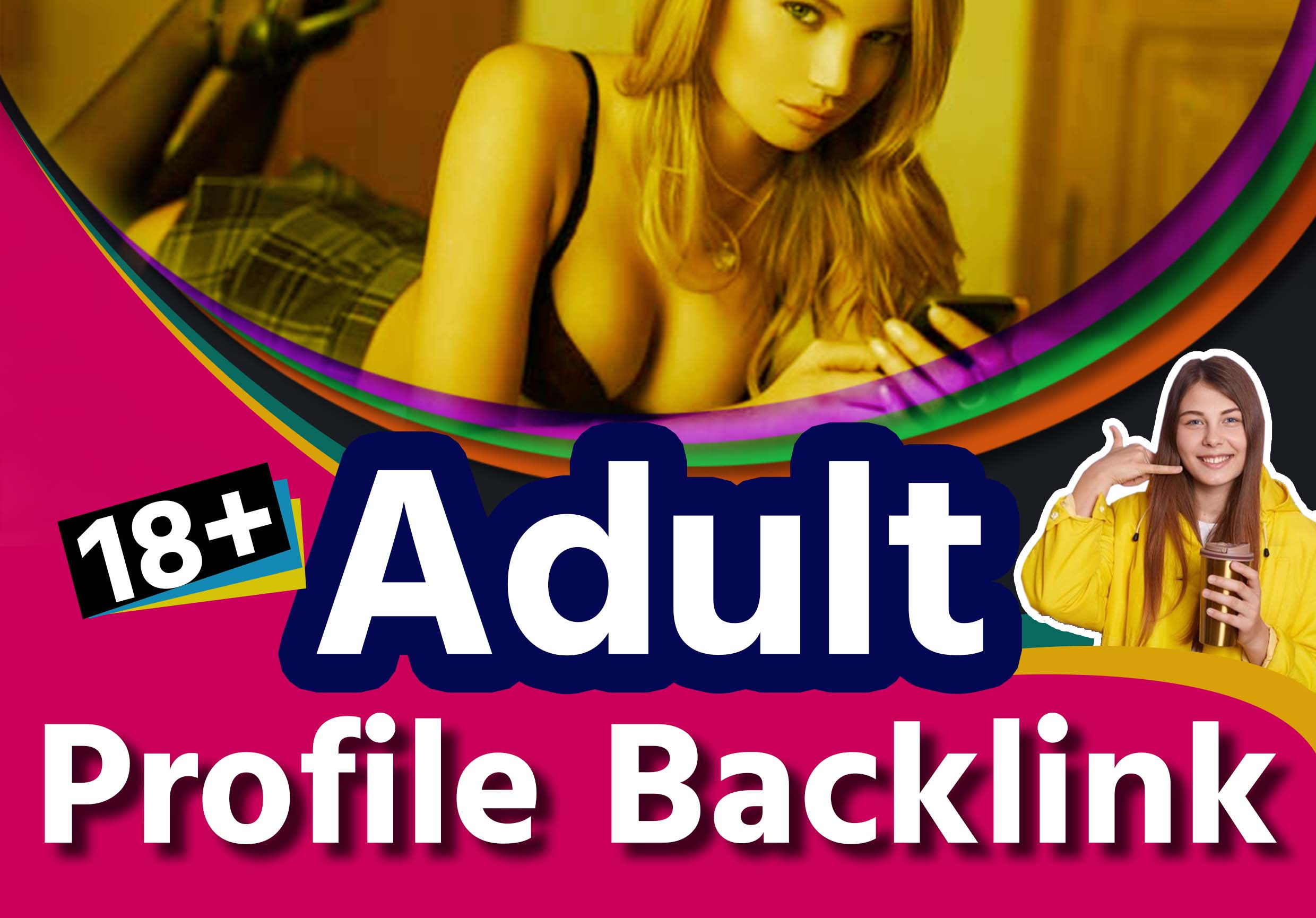 250 Adult Profile SEO Backlink with 500 Real Visitor USA,  UK,  Canada