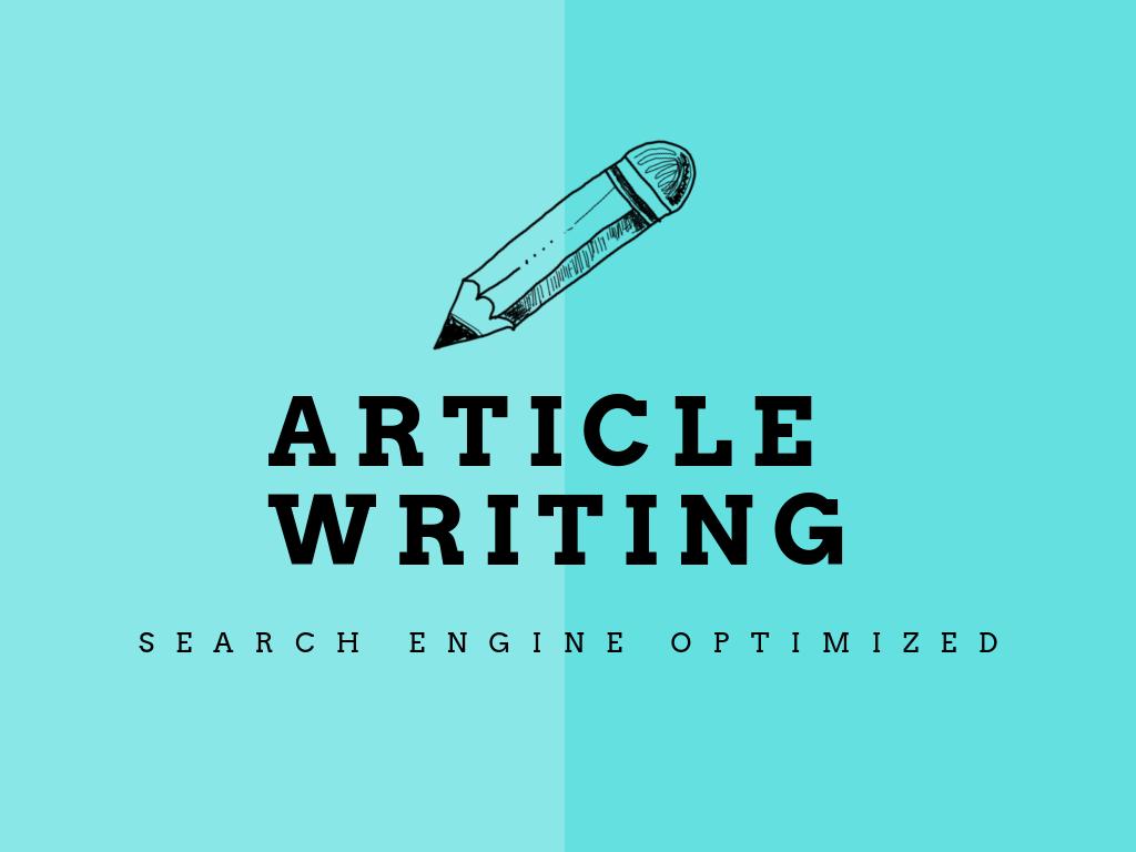 Get 3x500 words of SEO friendly unique articles