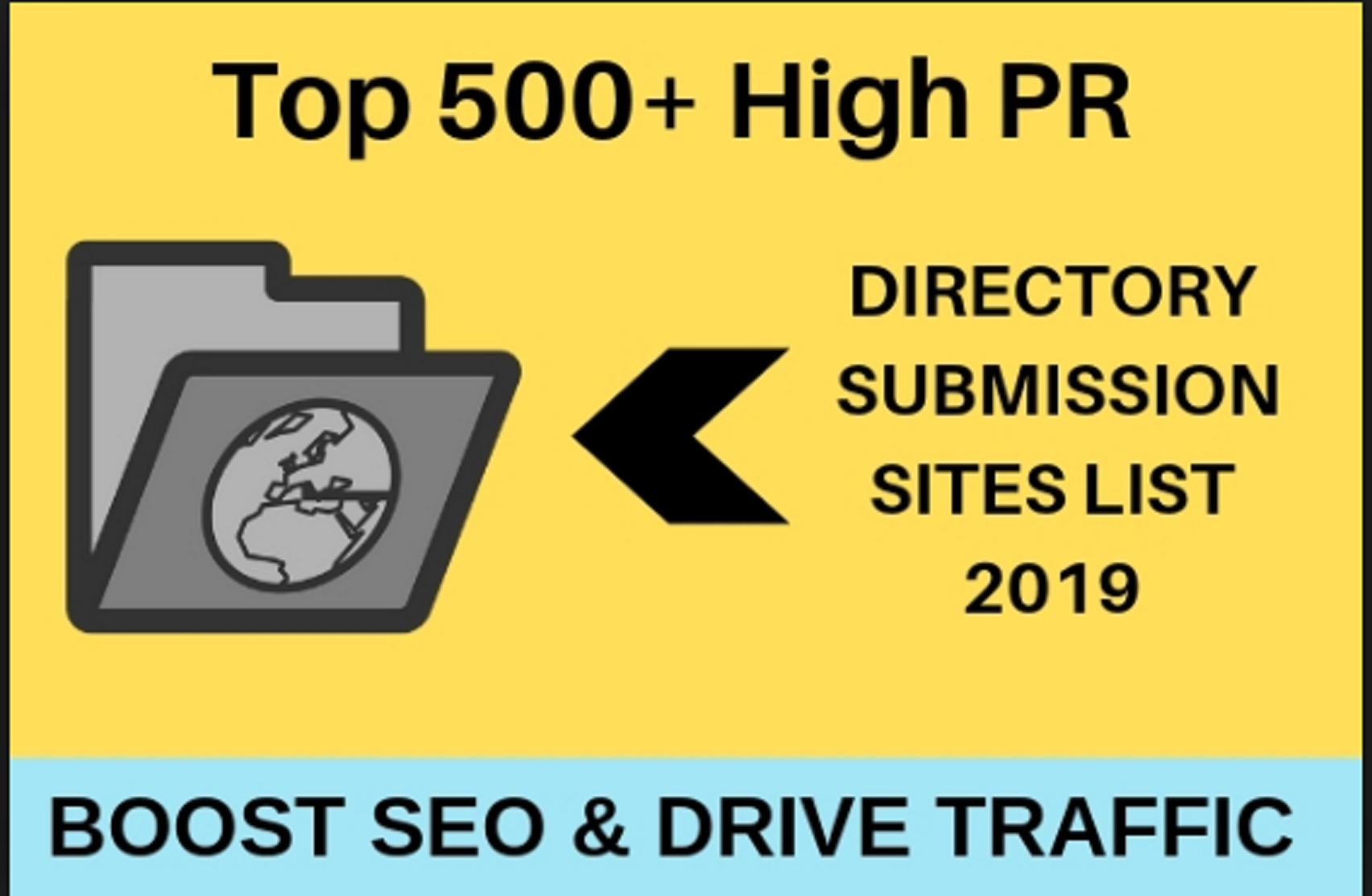 500 directoris submission your website 100 Secure