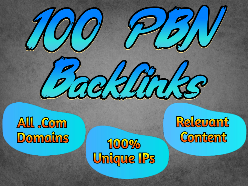 100 PBN Backlinks to boost your site ranking,  all. com pbns
