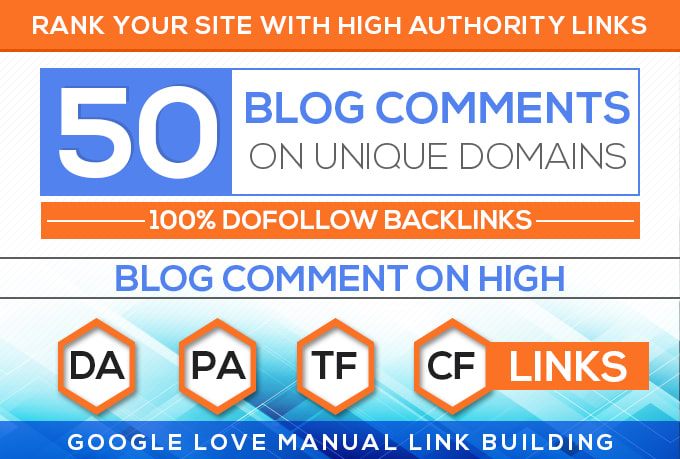 Do 50 Blog Comments On Unique Domains