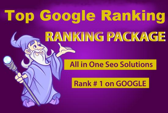 Fast Google Rankings High Quality SEO service Backlinks