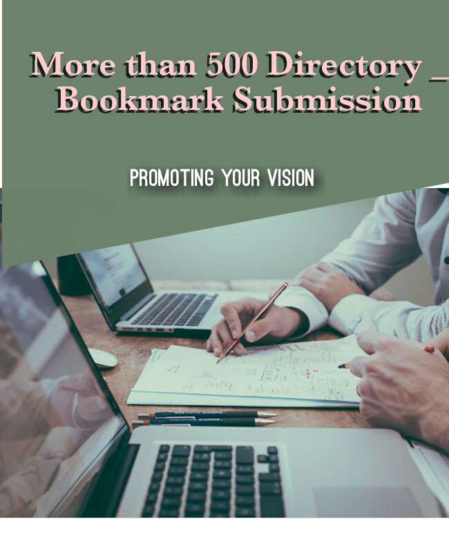 Create more than 500 Directory Submission Backlinks