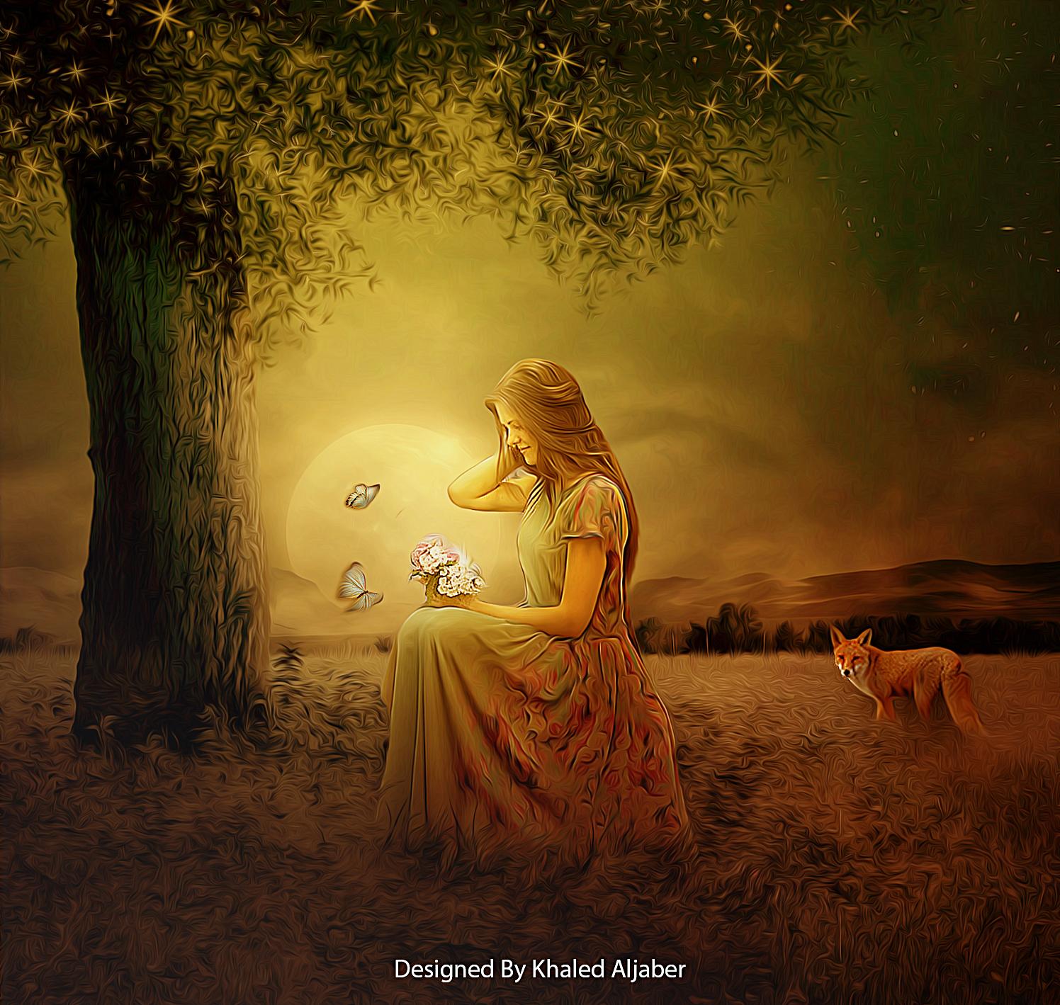 Convert your photo to spirit,  fantasy,  magic image