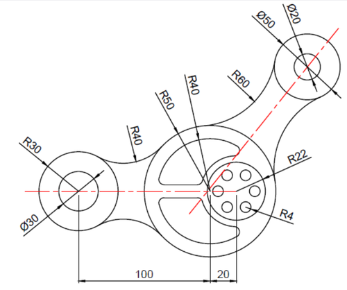 PDF/Image/Hand sketch to AutoCAD drawing conversion.