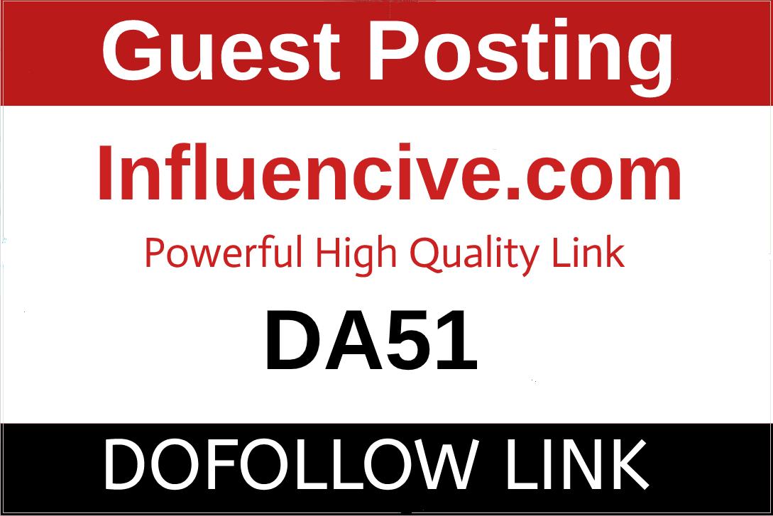 Guest Post On USA Traffic Google News Approved Website Influencive. com DA51