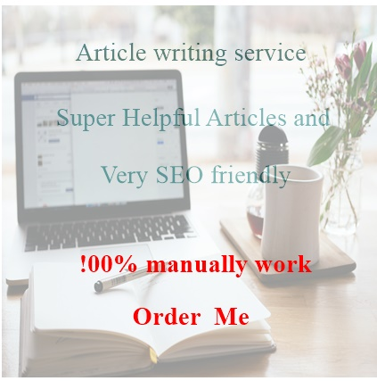 500 word unique article for your blog