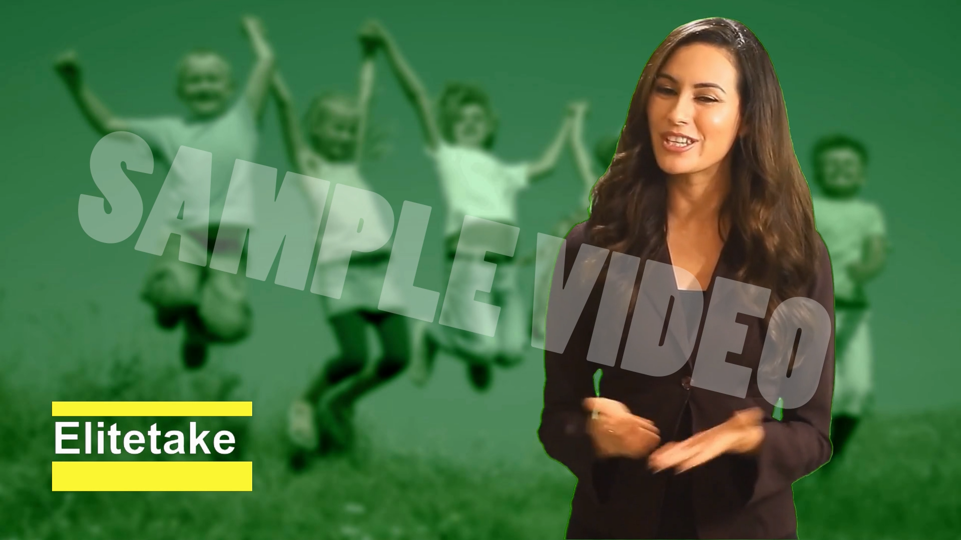I will make real human voice video ads for your business