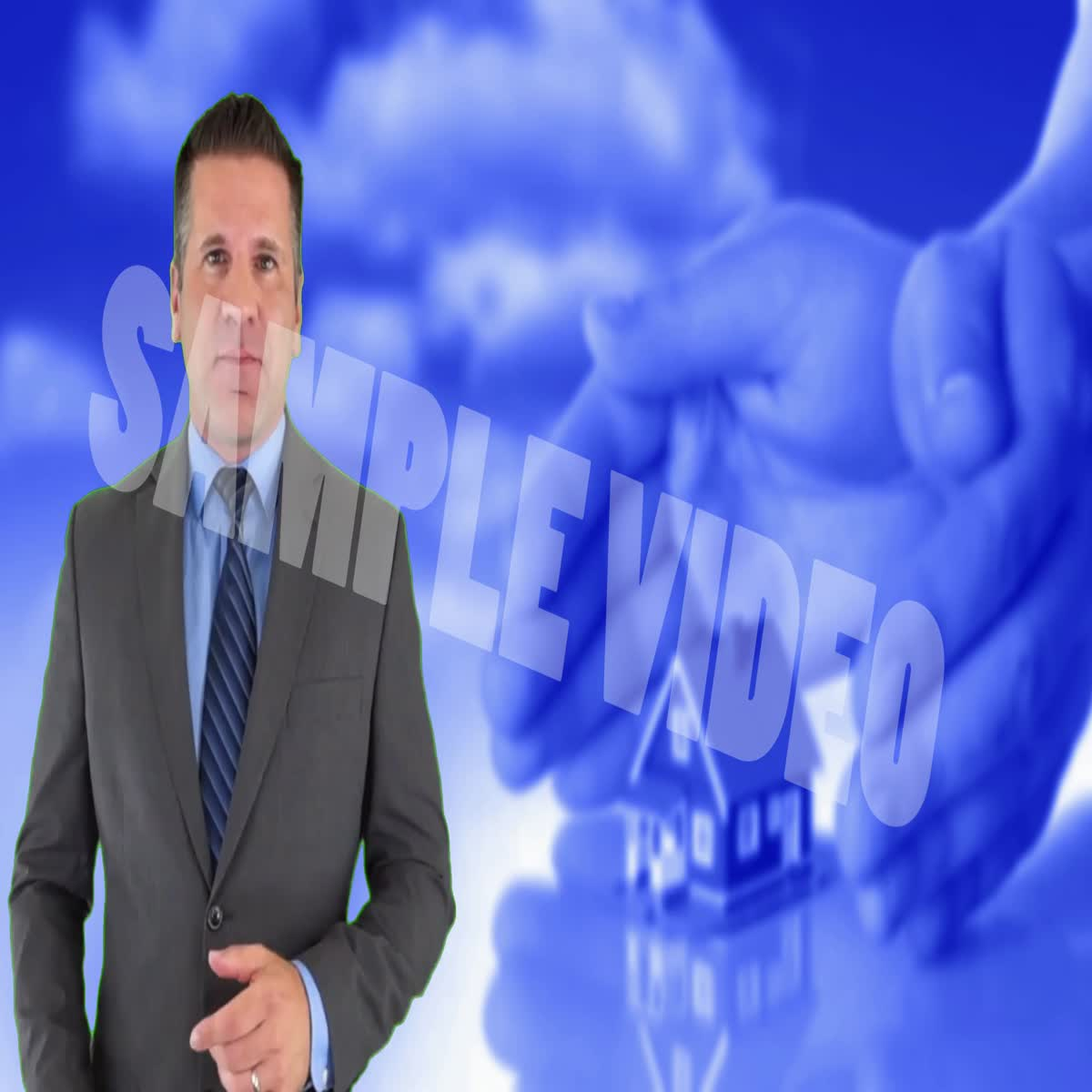 I will create a human spokes man ads for your business