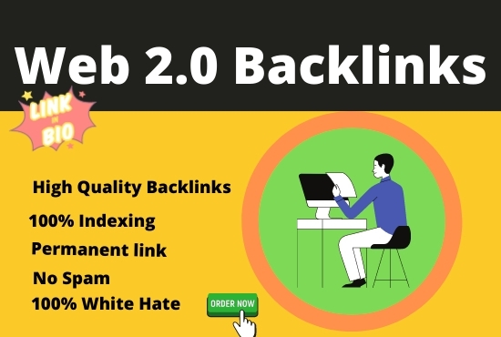 I can create 50+ Powerful web 2.0 Manual High DA &PA Backlinks For Your Website